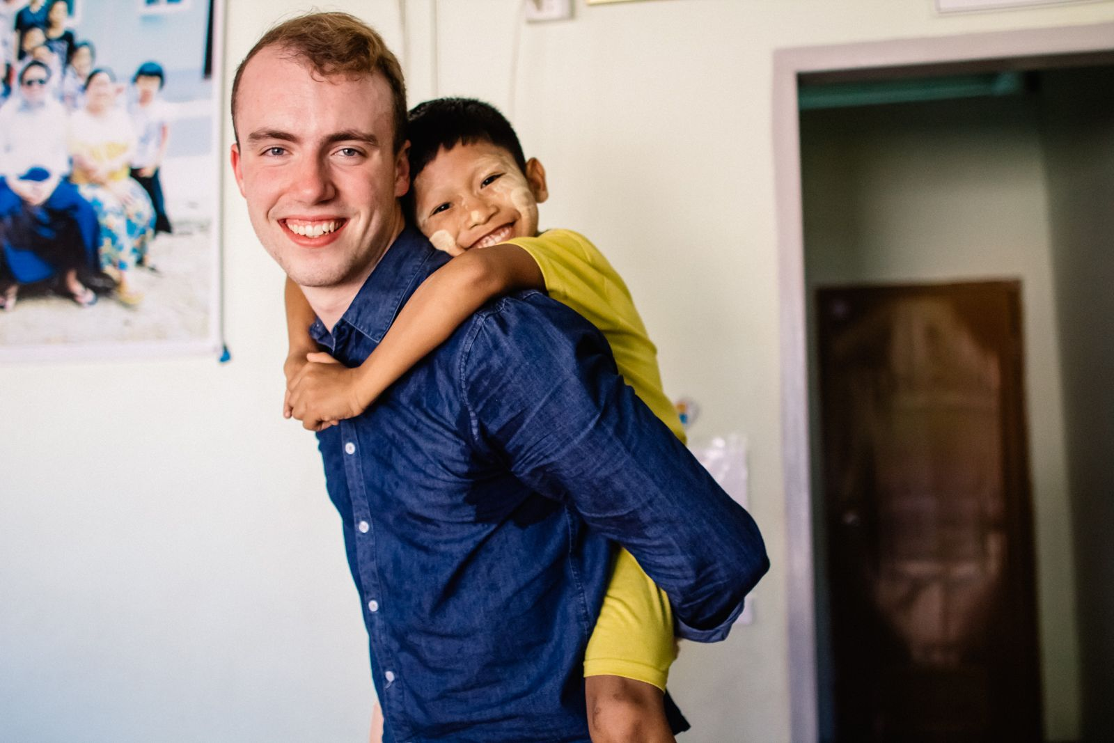 One of our staff members with an orphan in Burma! Help us raise orphans! www.worldcompassion.tv/raising-orphans/