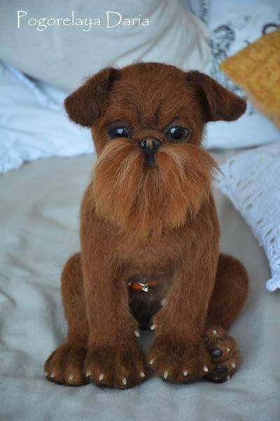 Brussels Griffon dog KoKo By Pogorelaya Daria - Bear Pile
