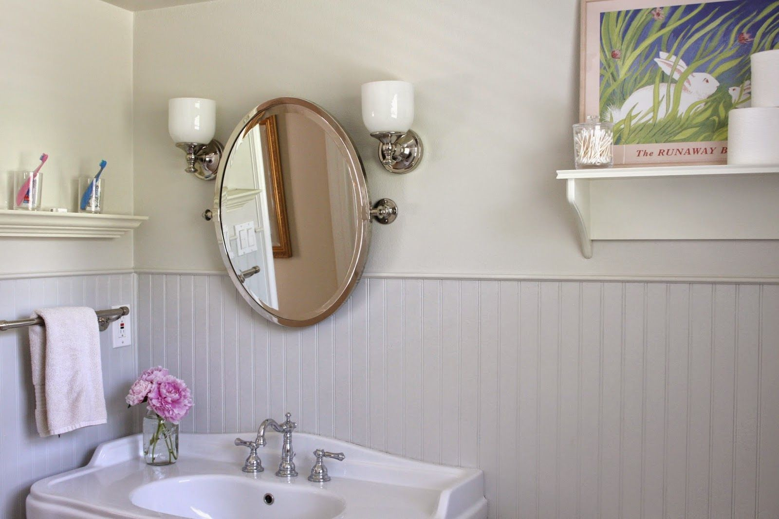 shelf over sink and toilet - Google Search | Bathrooms | Pinterest ...