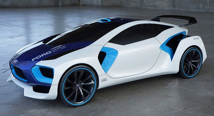 This Made Up Ford Wrc Rally Car Is Awsome Carscoops In 2020 Rally Car Concept Cars Futuristic Cars