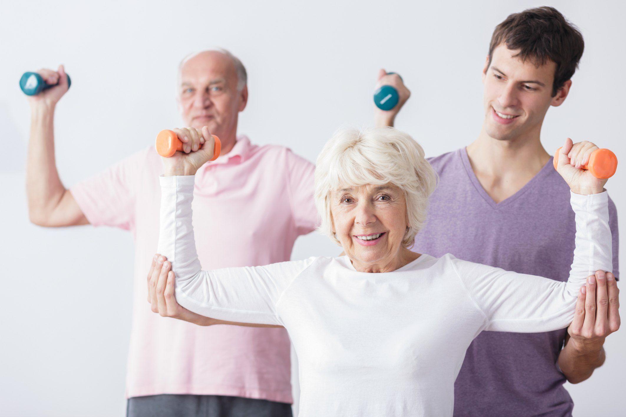 Dumbbell Exercises for Seniors #dumbbellexercises Dumbbell Exercises for Seniors | Livestrong.com #dumbbellexercises