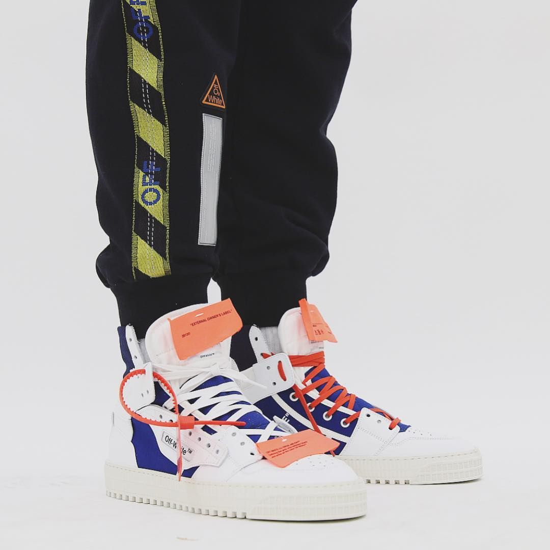 """big sale 2dcec d6d2b Off-White™ on Instagram  """"ss18 men s Off-White™ collection titled  Temperature® sweatpants and """"Off-Court"""" 3.0 sneakers at  livenola"""""""