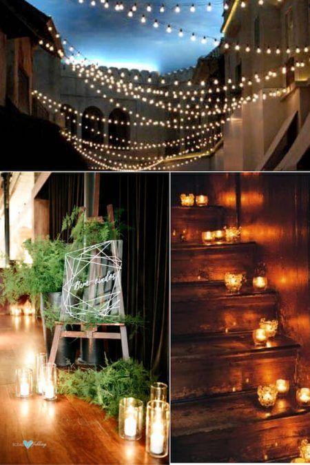 diy wedding reception lighting. 28 Amazing Wedding Reception Lighting Ideas You Can Steal | Reception, Weddings And Diy