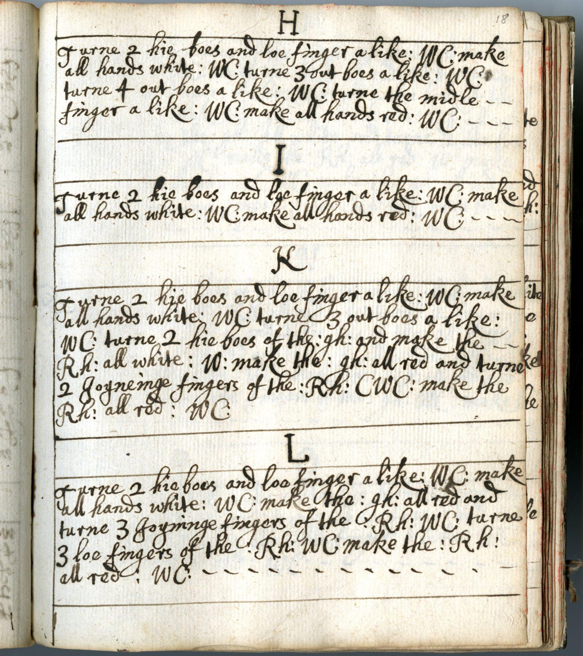 Page of mrsphelita millwardus sample book of braiding techniques