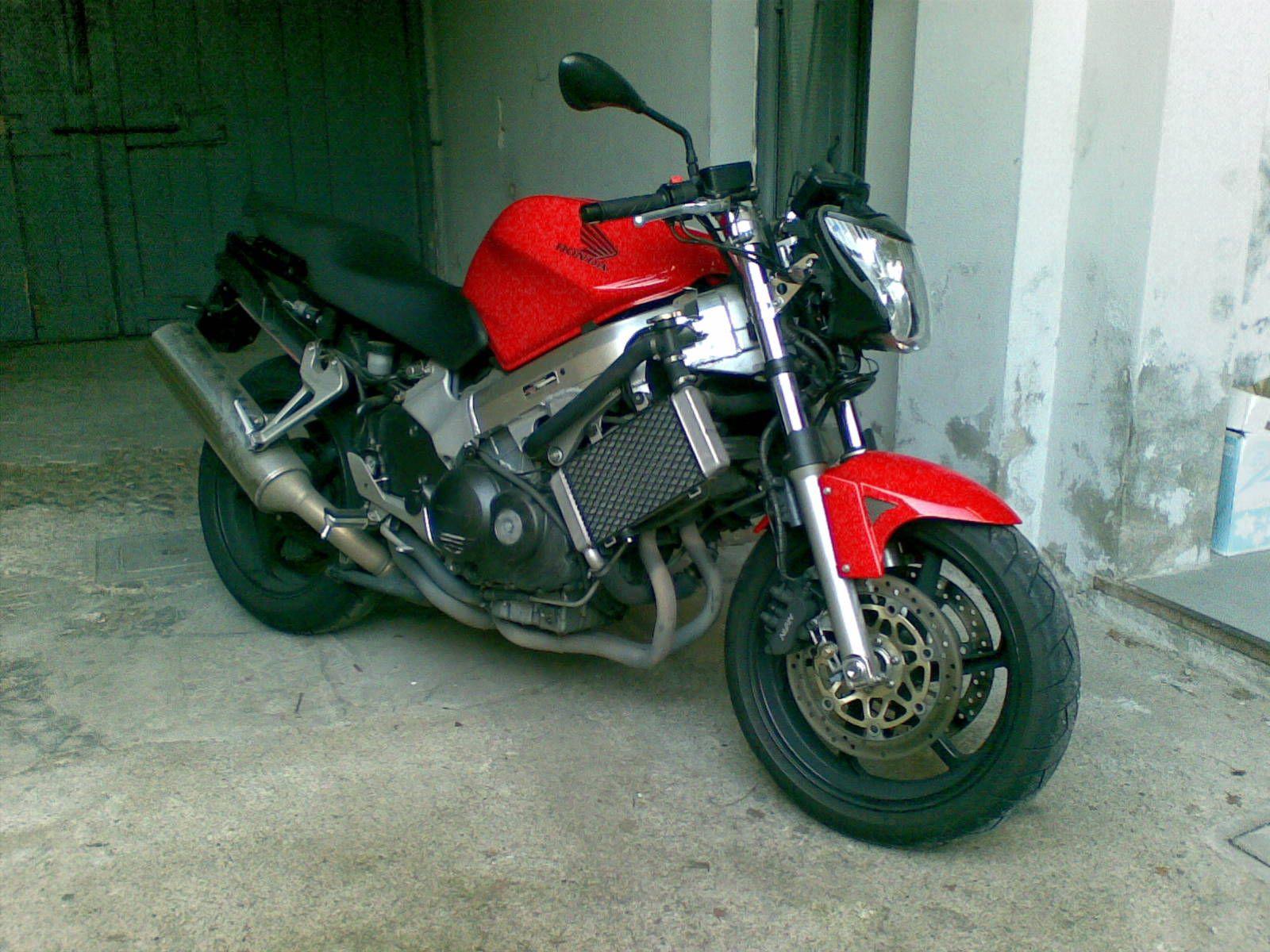 Vfr 800 FI => Naked => Streetfighter - Cafe Racer