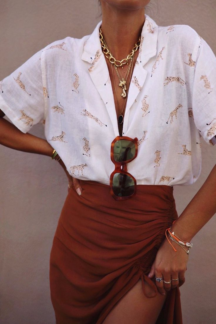 Simple Everyday Spring Shirts #vacationoutfits