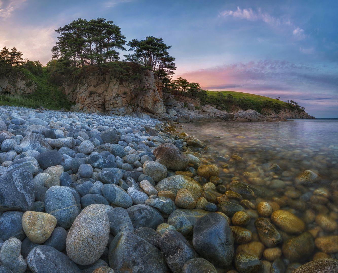 расположен тихом красивые картинки с приморским пейзажем тех пор прошло