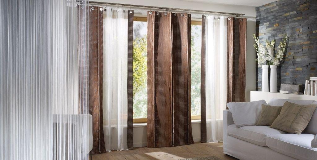 gardine wohnzimmer modern wohnzimmer gardinen modern and Pinterest