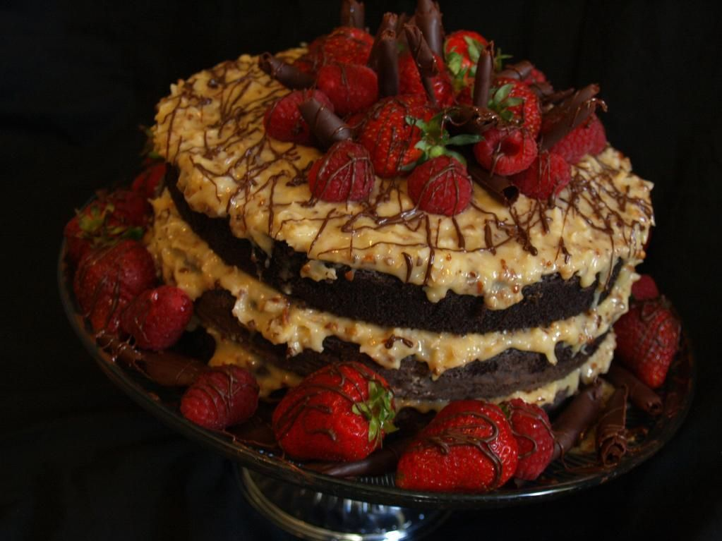German Chocolate Cake by BeckysSweets | Cake Decorating Ideas ...