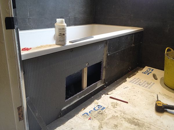 Enabling Future Access With A Tiled Bath Panel With Bathroom ...