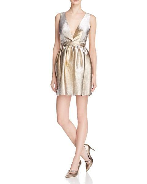 71c49afee8f Sandro Goldie Metallic Dress - 100% Exclusive