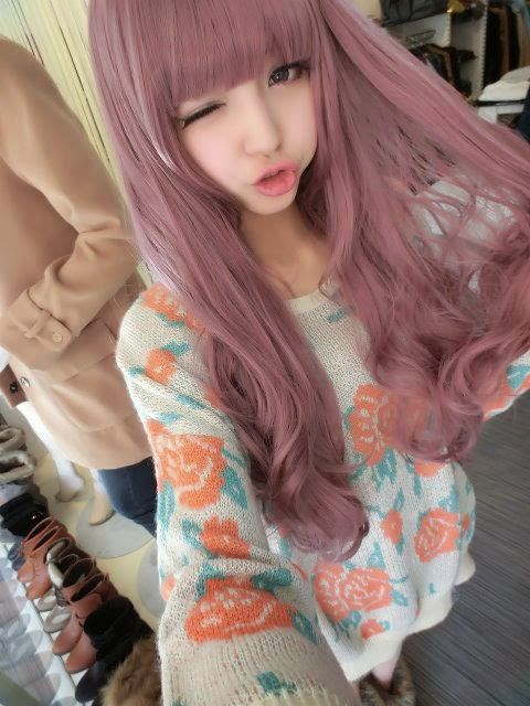 Image result for pink hair asian | Pink Hair | Pinterest | Pink hair