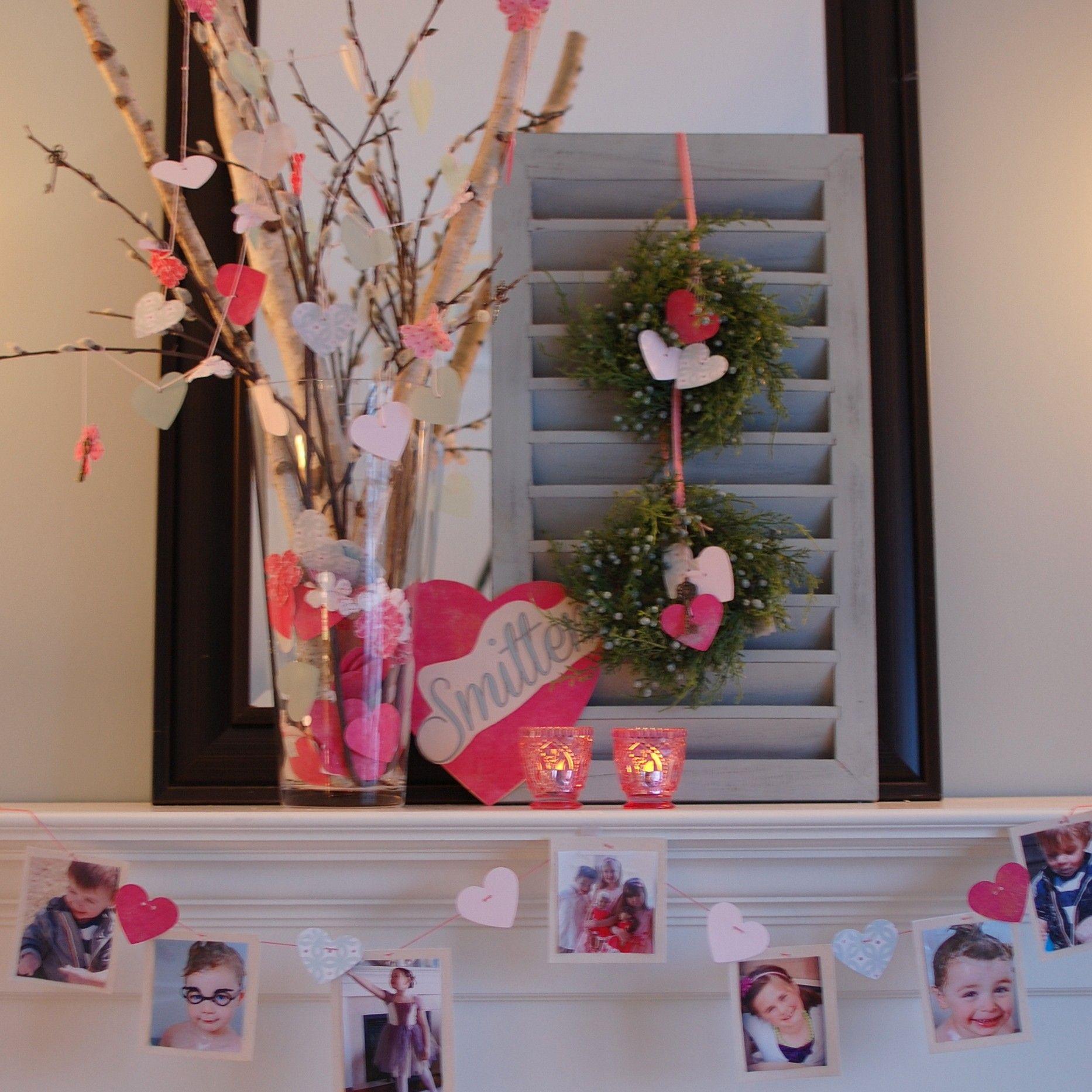 19 Lovely Valentine Fireplace Mantel Decorating Ideas Godfather Style Valentine Tree Mantel Decorations Valentine Decorations