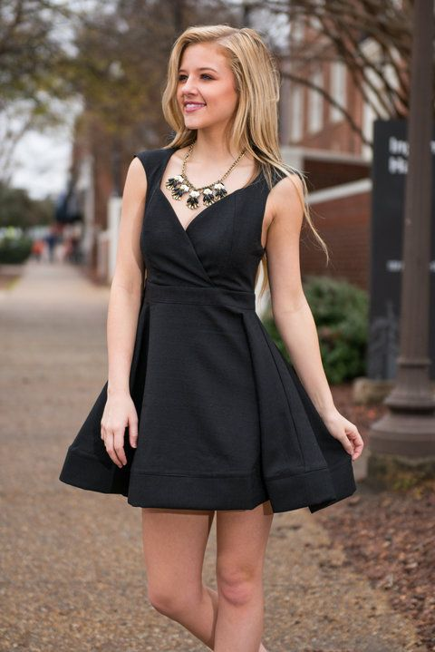 The Gift Of Fab Dress, Black