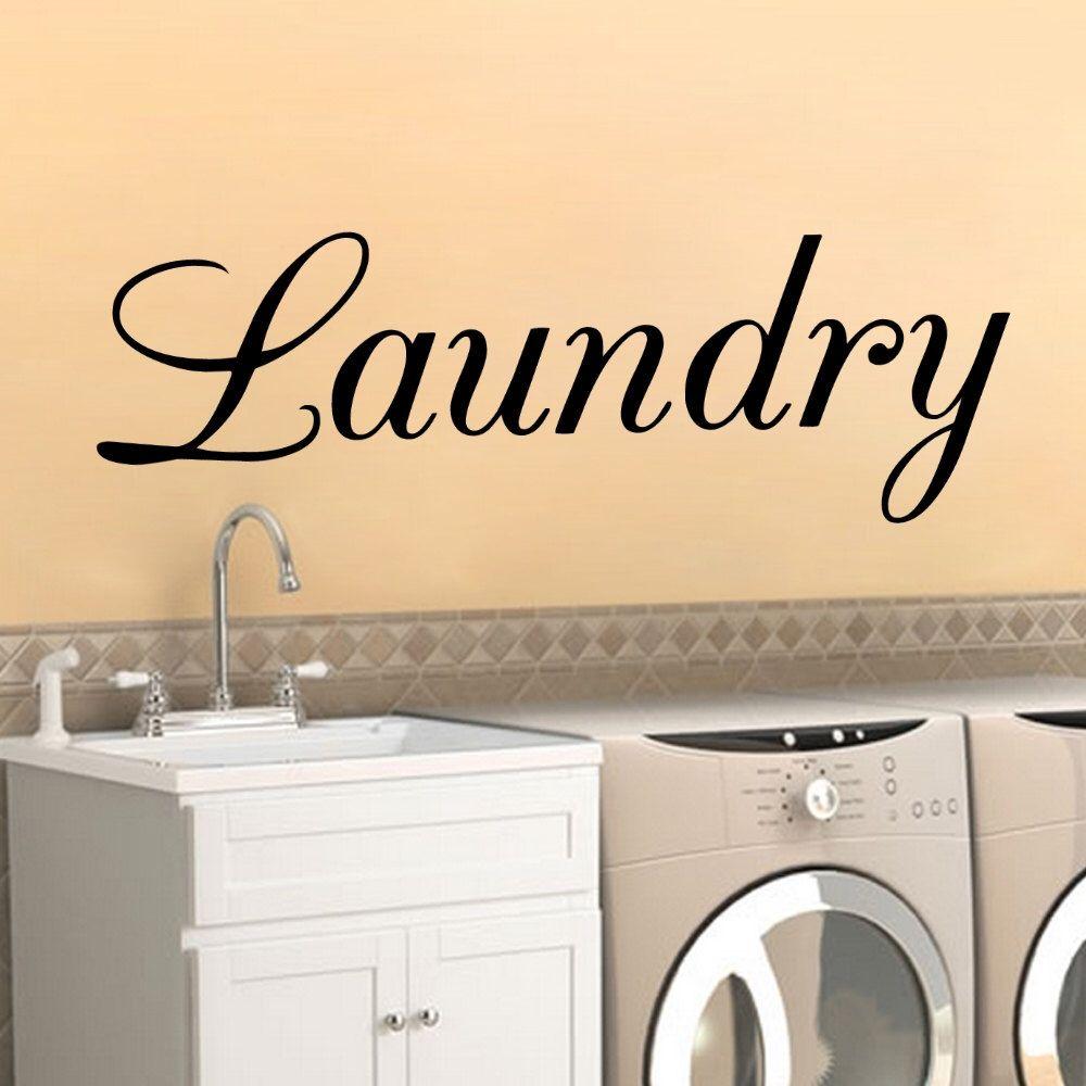 Laundry - Vinyl Decal Sticker Kitchen Decor Food Seasonings Family ...