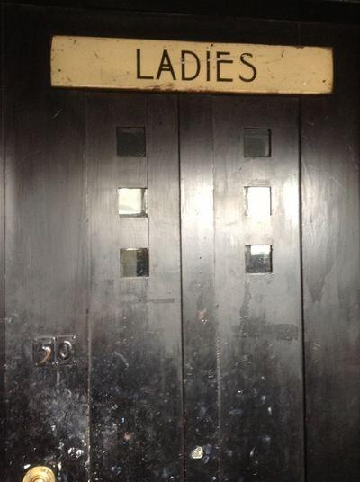 Glasgow School Of Art Interior Door To Ladies Mackintosh