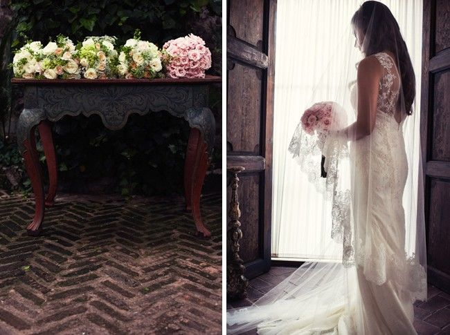 Published on Love and Lavender. San Miguel Allende Vintage Chic Wedding by San Miguel Weddings in Casa Tortuga.  www.nomdeplumephoto.com