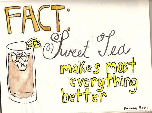 sweet tea sweet pea!