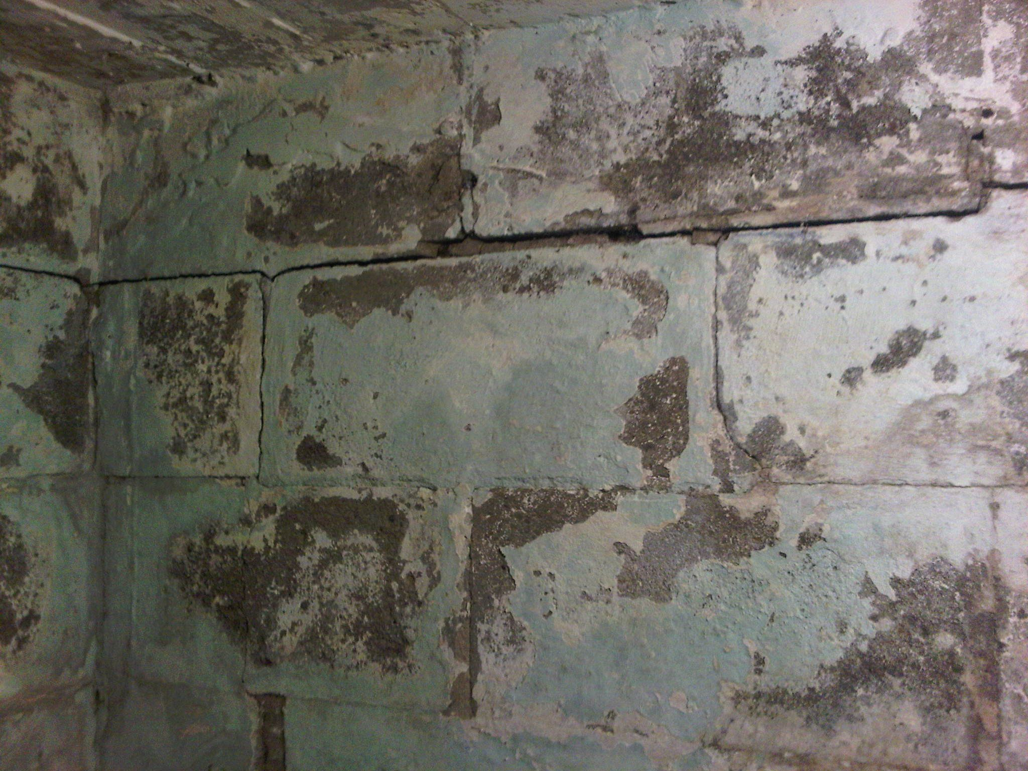 Horizontal cracking in block walls is caused by the soil for Cinder block vs concrete foundation