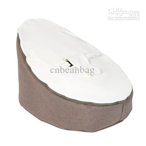 Baby Beanbags Chairs Sofa White Cute Seat Sleeping Beds Portable