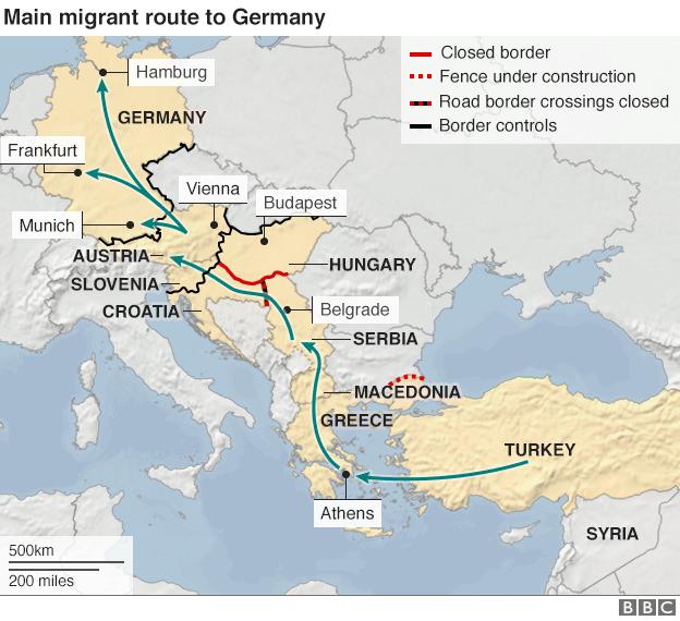 Croatia opens Serbia border to migrants Macedonia greece
