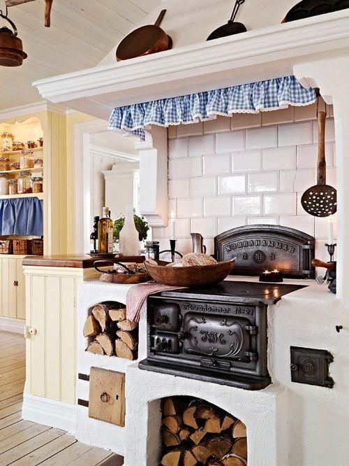 Cocina estilo rustico escandinavo | Shabby chic kitchen | Pinterest ...