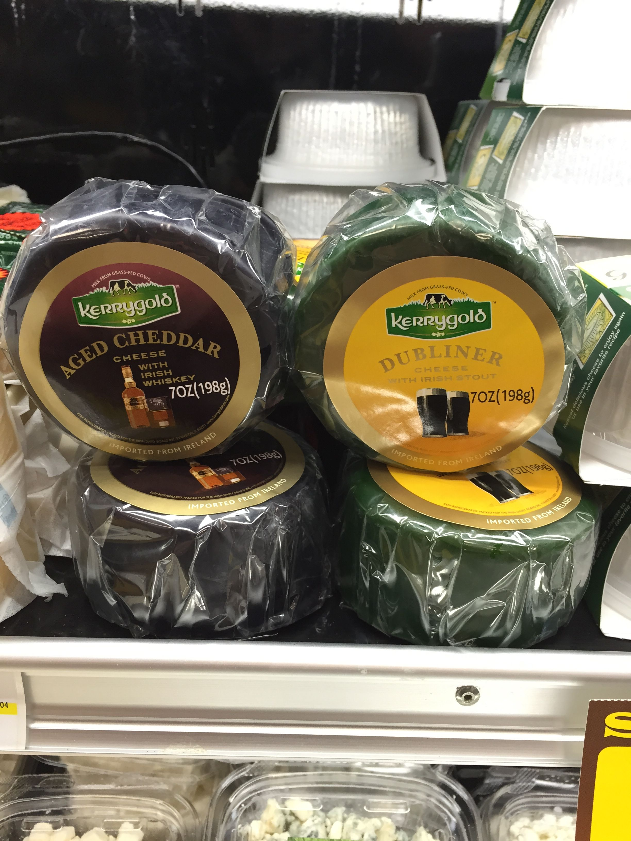 Perfect cheeses to pair with corned beef this holiday! #kerrygold #cheese