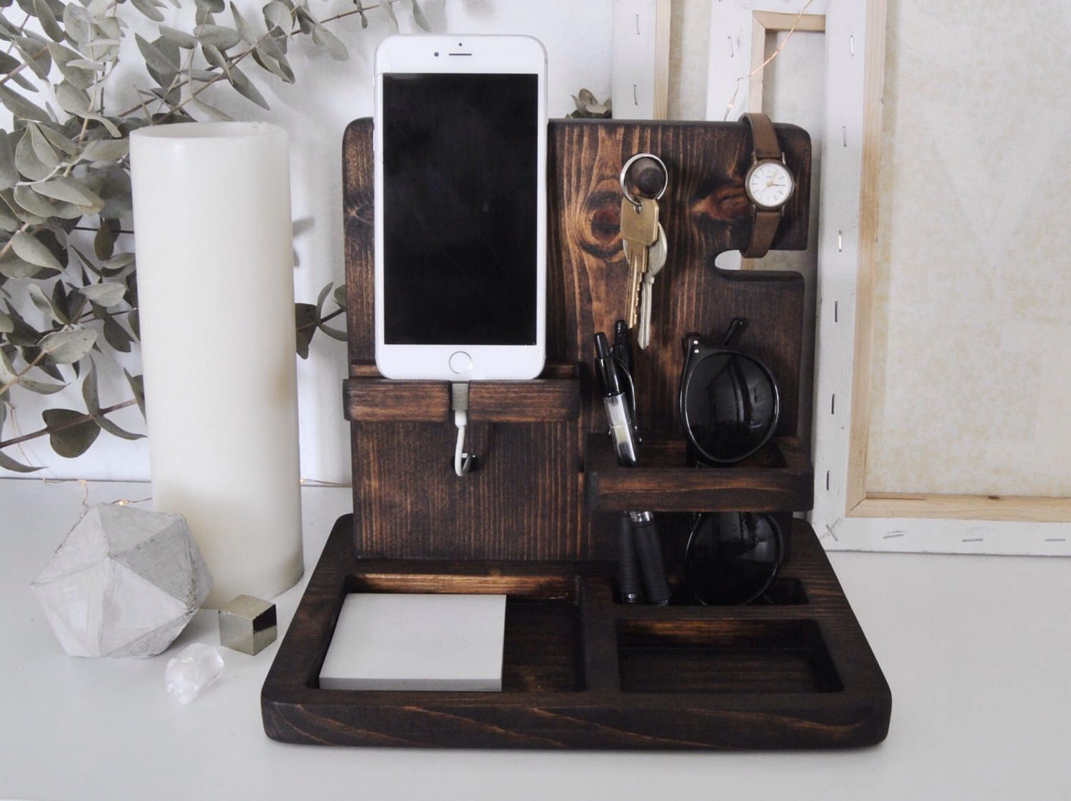 This Item Is Unavailable Nightstand Organization Charging Station Diy Charging Station