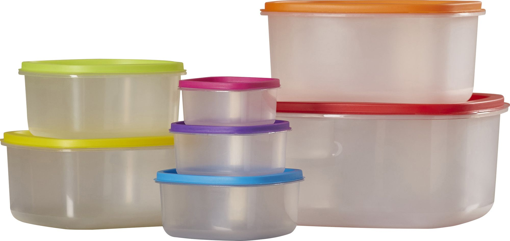 Wayfair Basics 14-Piece Plastic Food Storage Set