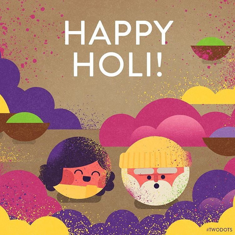 Today is the Festival of Colors! #TwoDots