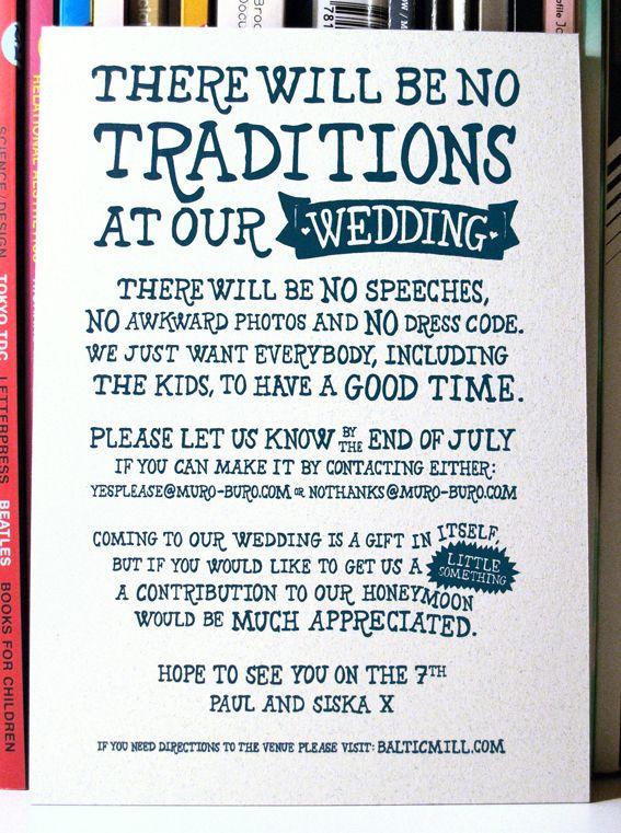 Wedding invitation by paul robson via behance pinteres yea or no emails casual wedding invite aar mcleod stopboris Gallery