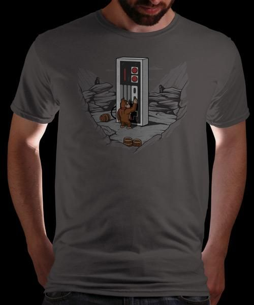 """""""Dawn of Gaming"""" on Qwertee : Limited Edition Cheap Daily T Shirts 
