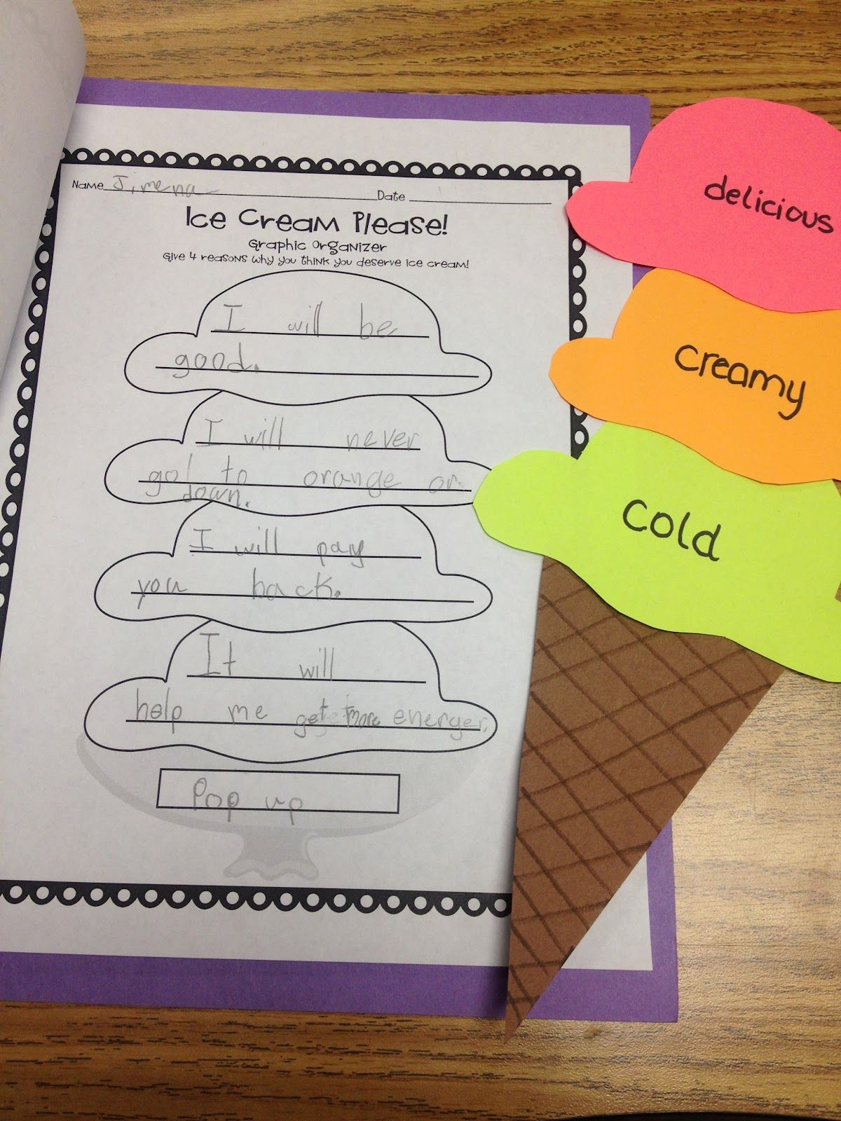 Students Were To Write A Letter And Try To Persuade Their