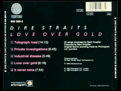 dire straits love over gold album