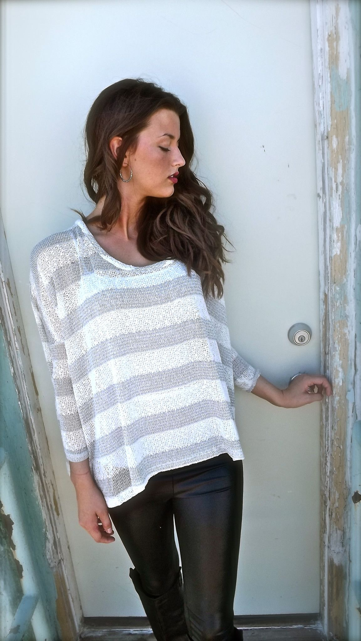 LOVE this baggy sweater!