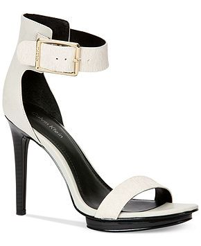 227e851b7d3 Calvin Klein Women s Vivian High Heel Sandals - All Women s Shoes - Shoes -  Macy s