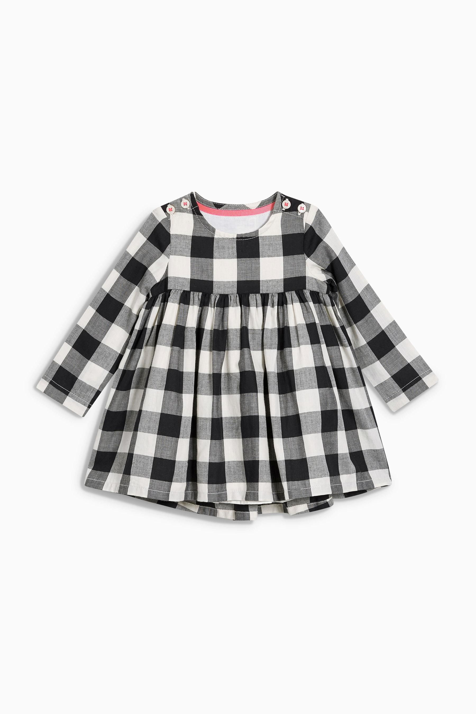 Black and white baby mobile designed and made in australia by tina - Black White Gingham Baby Dress Next Usa