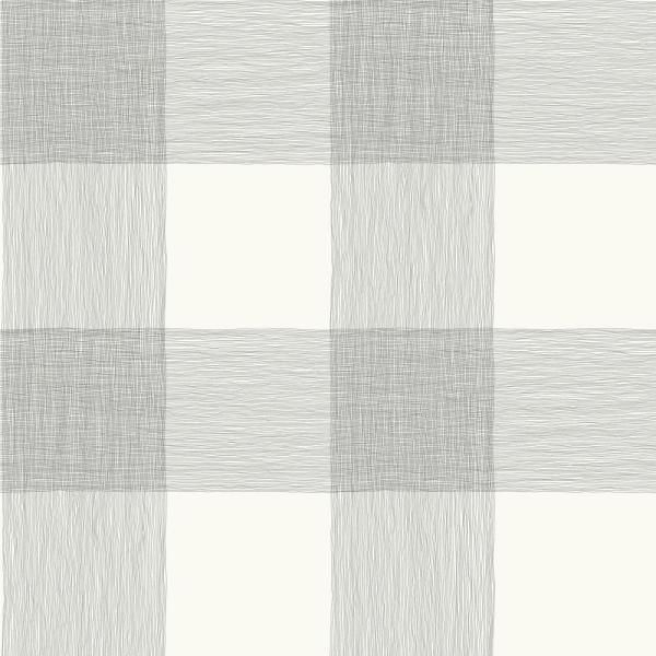 Magnolia Home By Joanna Gaines Common Thread Paper Strippable Wallpaper Covers 56 Sq Ft Me1520 The Home Depot Magnolia Homes Black And White Wallpaper Plaid Wallpaper