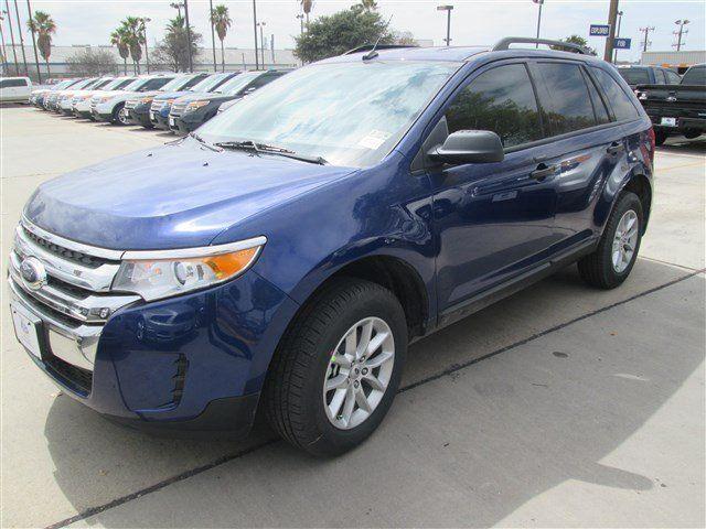 Ford Edge Deep Impact Blue Metallic For Sale In San Antonio Tx Vin