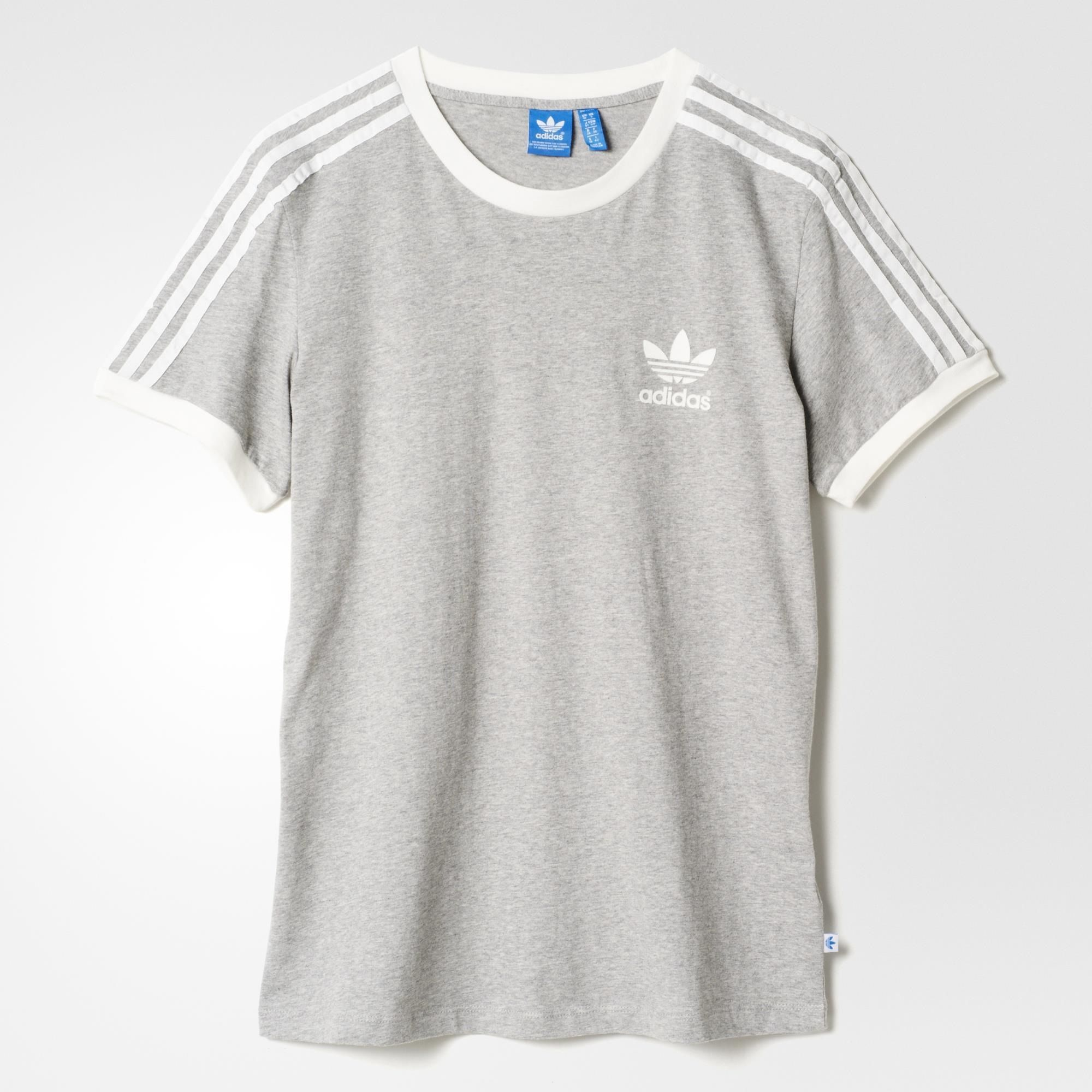 adidas 3-Stripes Tee - Grey | adidas US in 2019 | Addidas ...