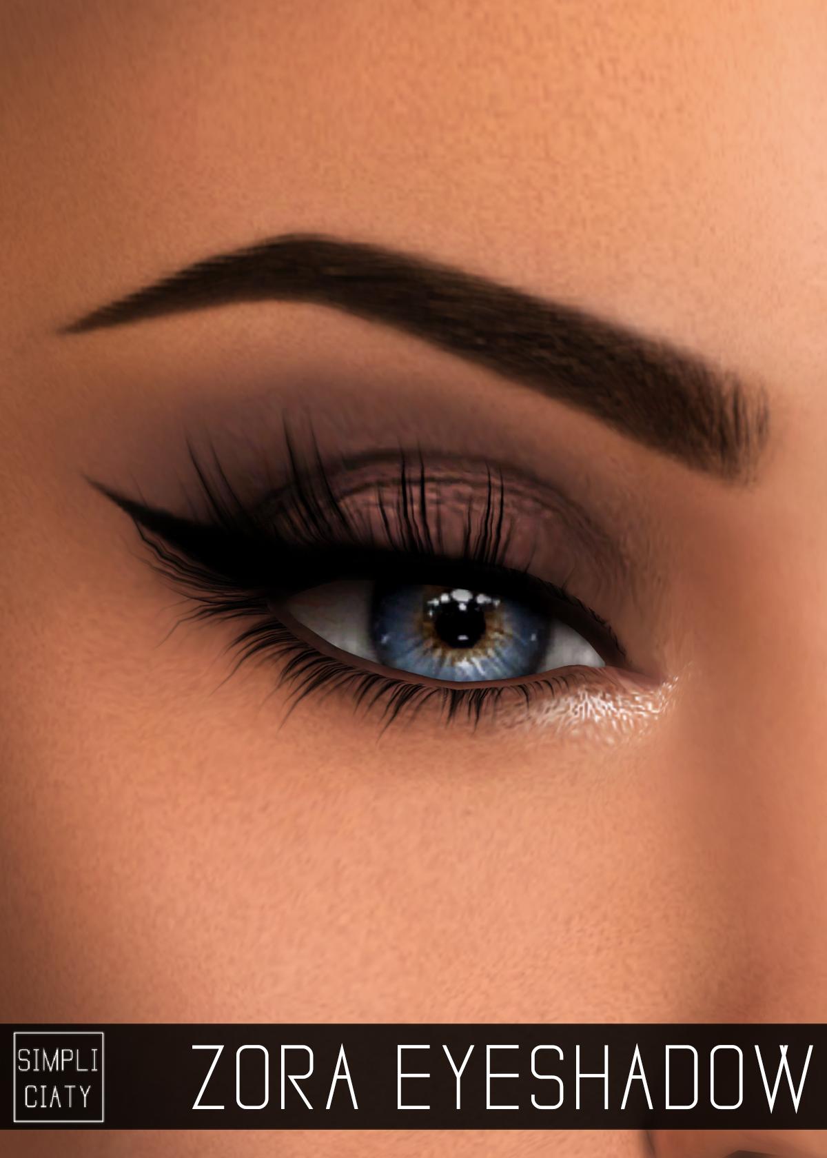 "simpliciaty-cc: ""ZORA EYESHADOW"" Simple natural eyeshadow ..."