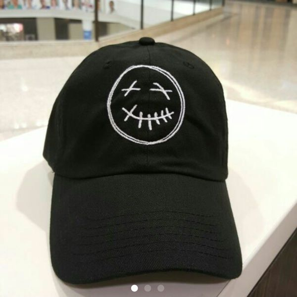 01564414 For Sale: Travis Scott Smiley Face Hat for $20   Secondhand Clothing ...