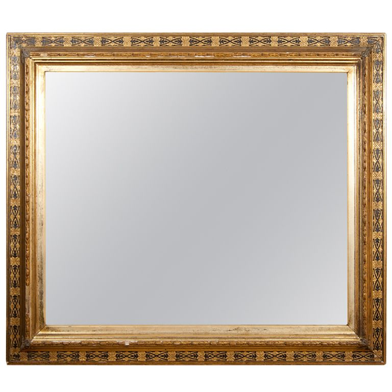 Aesthetic Period Picture Frame in Gilt and Black | Black highlights ...