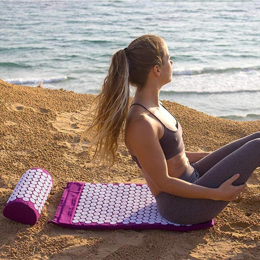 Memory Foam Acupressure Mat and Pillow Set #inspireuplift explore Pinterest