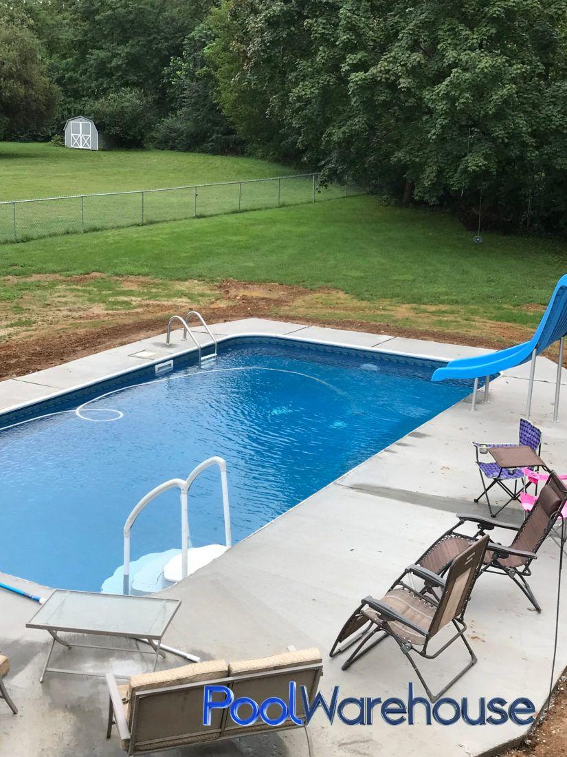 Cwynar Pennsylvania Inground Pool Kit Construction   Outdoor ...