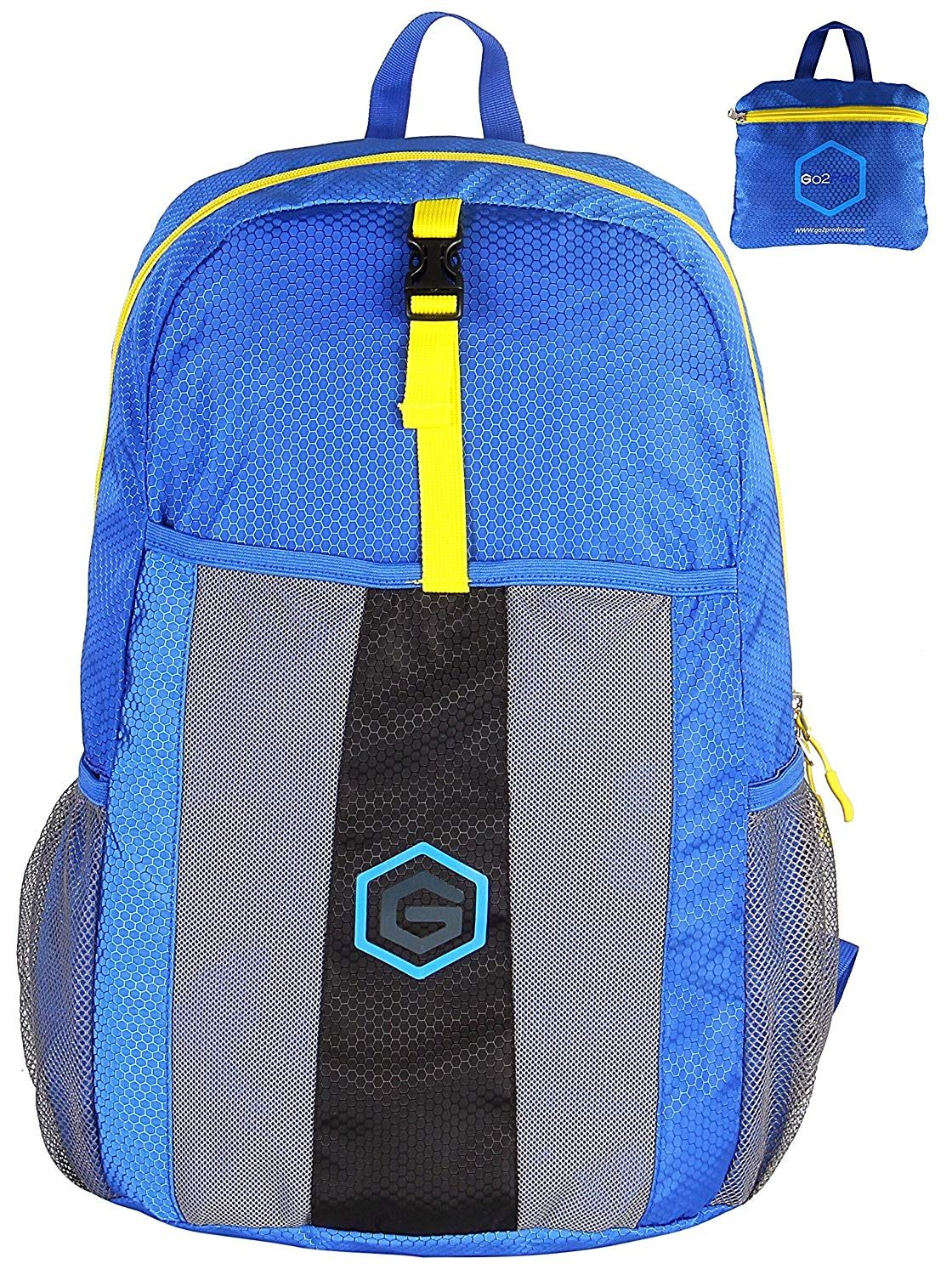 8805e975ef Go2Pak Top Lightweight Best Travel Backpack - Large 35L Perfect for Travel
