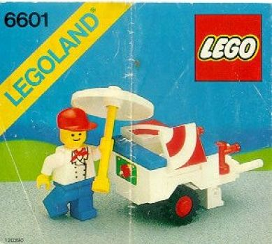 6601 Ice Cream Cart Lego Instructions And Catalogs Library Lego