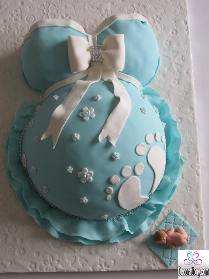 Blue Baby Chower Cake 13 Easy Cake Decorating Ideas For Baby Shower Cake  Decorating Ideas Baby