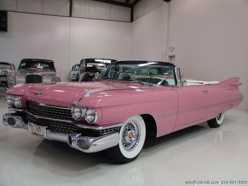 1959 CADILLAC SERIES 62 CONVERTIBLE – Daniel Schmitt & Co. Classic Car Gallery