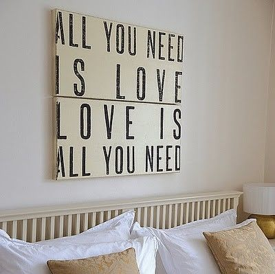 all you need is love, allyouneedislove, beatles, cool, home decor, inspiration